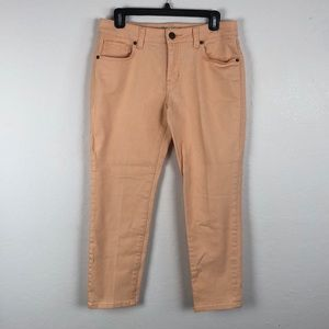 Cabi Stretchable Light Peach Jeans